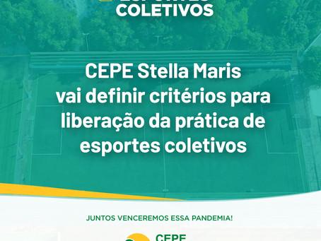 CEPE Stella Maris vai definir critérios para liberação da prática de esportes coletivos