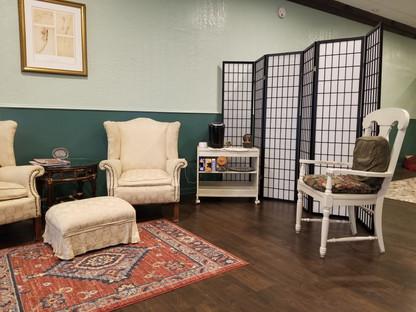 Waiting Area & Tea Room