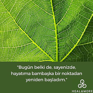 Heal&More® Zihin Beden Dengeleme ilk sea