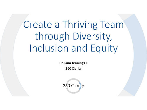 Create and Sustain a Diverse Team