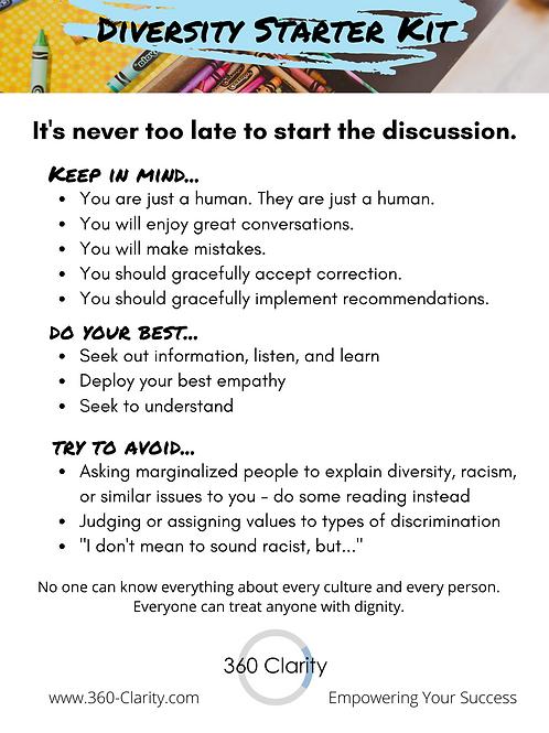 Diversity Starter Kit