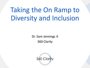Taking the On Ramp to Diversity and Inclusion