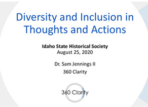 Diversity and Inclusion in Thoughts and Actions