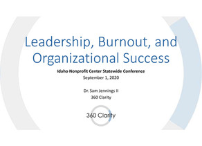 Leadership, Burnout, and Organizational Success