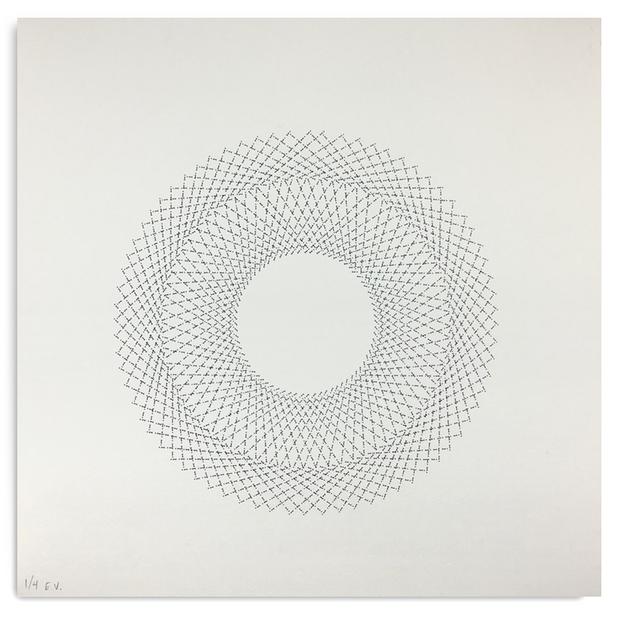 Radial Pattern No. 02