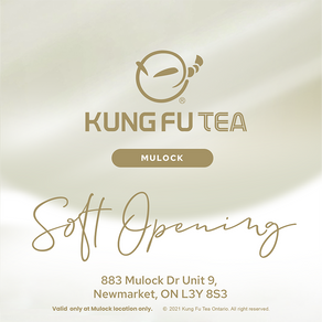 Soft Opening 20% off on all drinks!