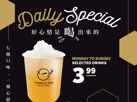 Our daily special is back!