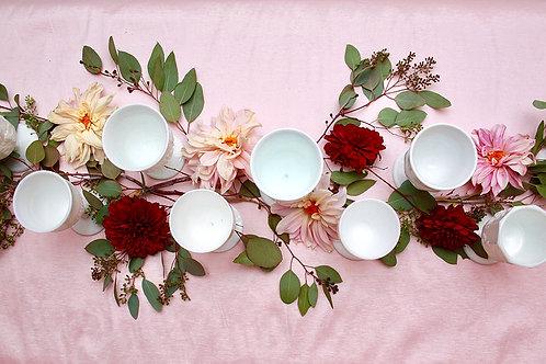 White Goblets