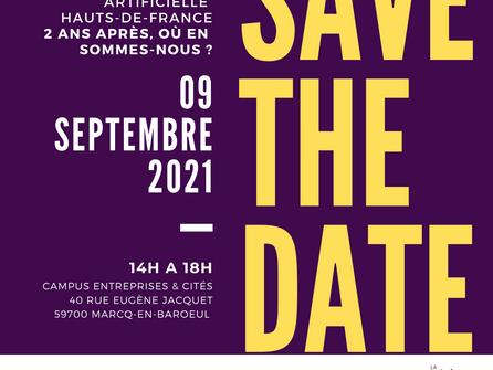 SAVE THE DATE : Intelligence artificielle en Hauts-de-France - 2 ans après
