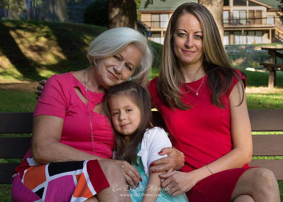3 Generation Family Portrait