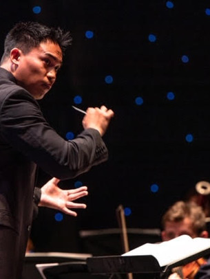 Alexander Magalong, assistant conductor