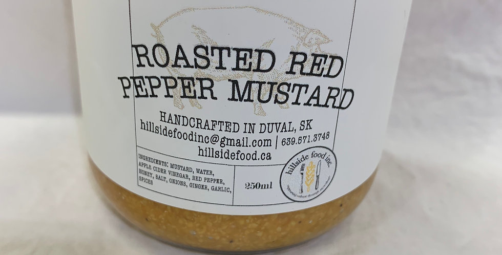 Roasted Red Pepper Mustard
