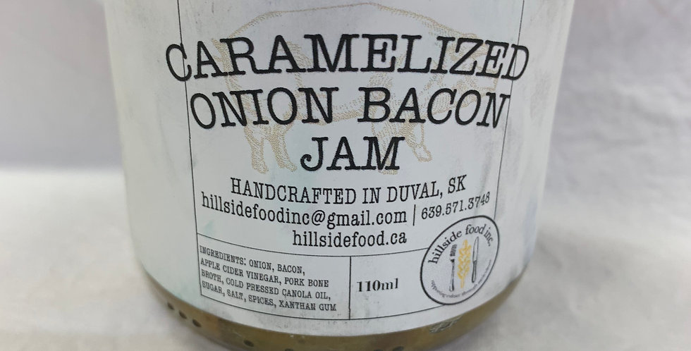 Carmelized Onion Bacon Jam