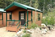 Hiker Backpacker Cabin