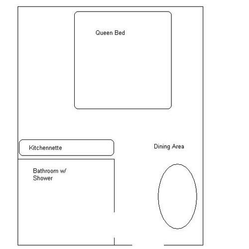 Cabin 2 Floor Plan