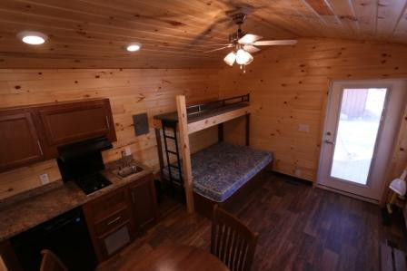 Hiker Cabin View 2