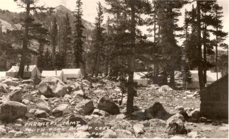Tent Cabins 1930's