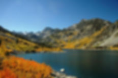 Lake Sabrina in October