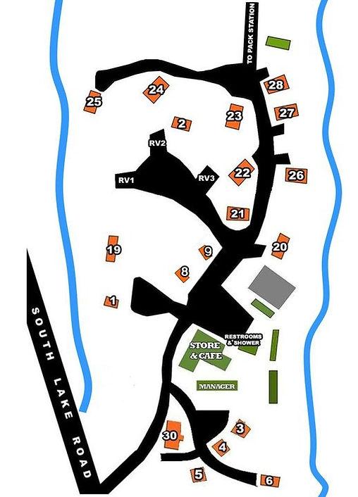 Parchers Resort Map