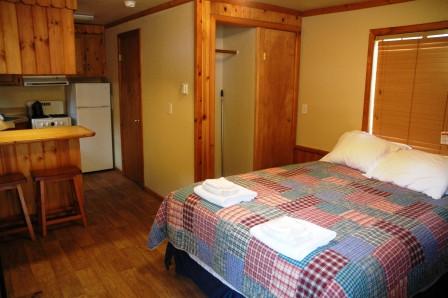 Paradise Cabin Interior