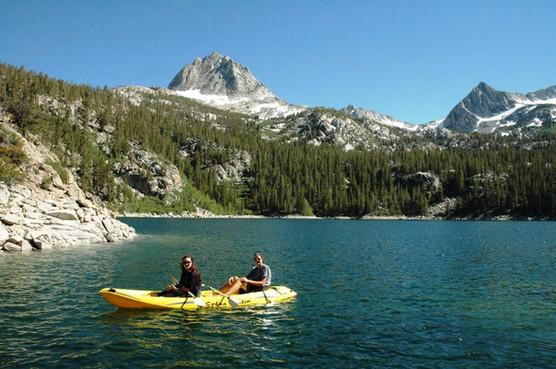 Kayakers on South Lake