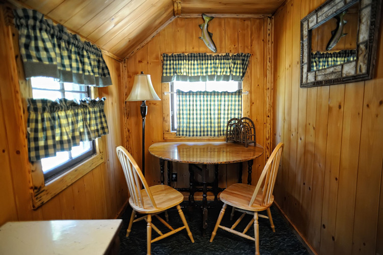 Cabin 1 Seating