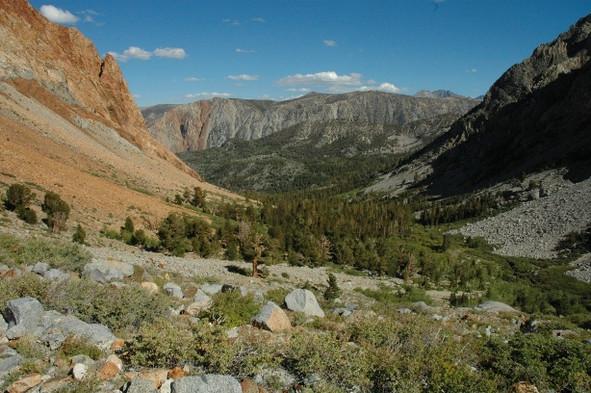 Piute Pass Trail