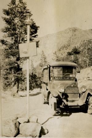 Old Parchers Resort Camp Car