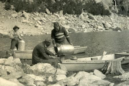 WC Parcher Stocking South Lake