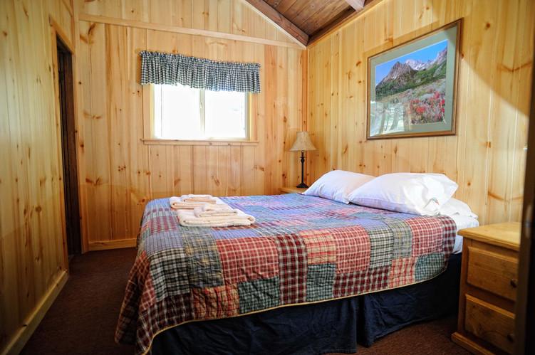 Cabin 22 & 23 Queen Bedroom
