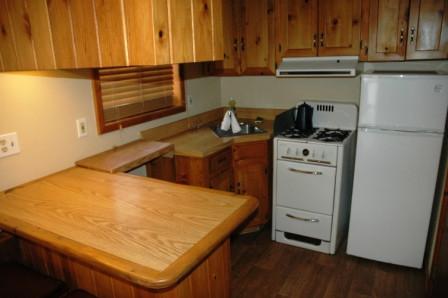 Paradise Cabin Kitchen