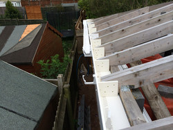 Fascia soffits and guttering