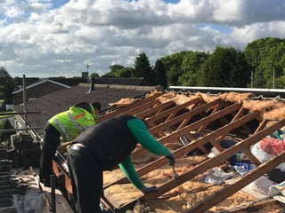 Complete reroof Coventry
