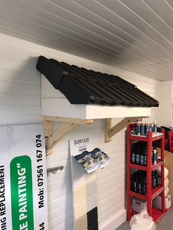 Display Canopy Roof Finest Fascias
