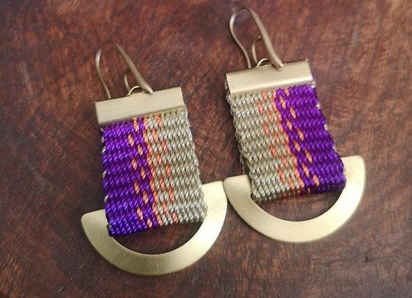 Aros boldo/ Boldo  earrings