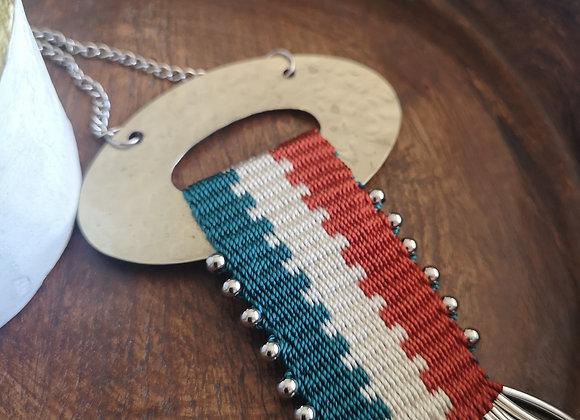 Collar Alpaca Lonquimay / Lonquimay Alpaca  necklace