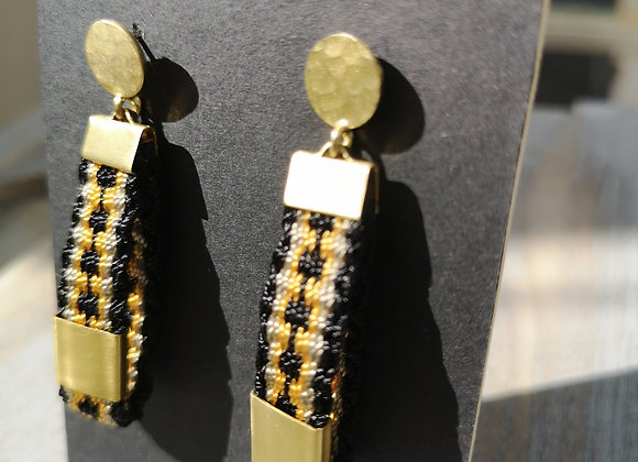 Aros olivillo / Olivillo earrings