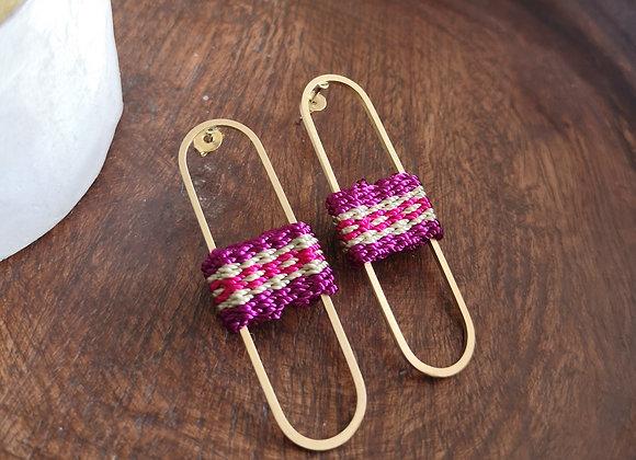 Aros Raulí / Rauli earrings