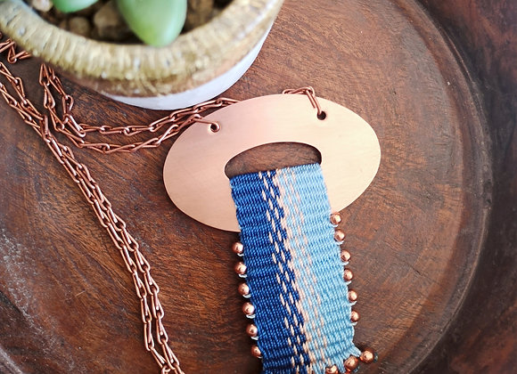 Collar cobre Lonquimay / Lonquimay copper  necklace