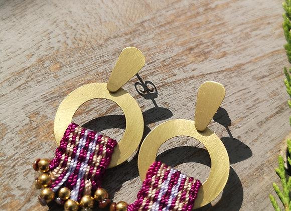 Aros Arrayan bronce/Arrayan Bronze Earrings