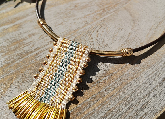 Collar tassel / Tassel necklace