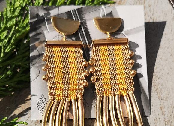 Aros tassel  etnicos/ tassel ethnic earrings