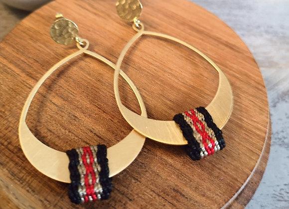 Aros Mañio coleccion nuestra tierra /  Mañio earrings