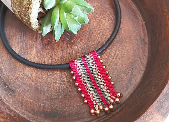 Collar Parinacota bronce / Parinacota bronze necklace
