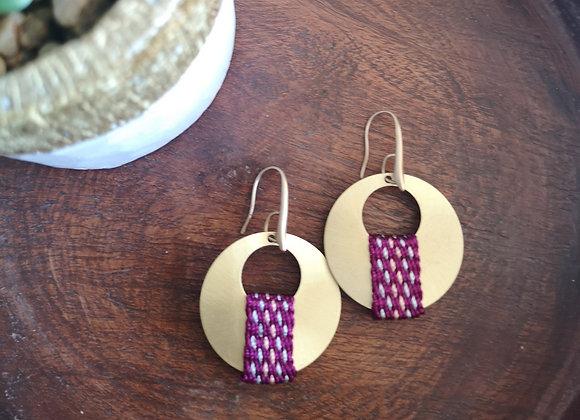 Aros luna llena / full moon earrings