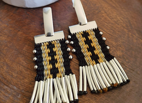 Aros tassel coleccion Nuestra tierra/ tassel earrings collection our land