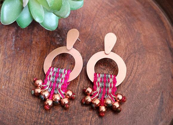 Aros Arrayan cobre /Arrayan copper Earrings