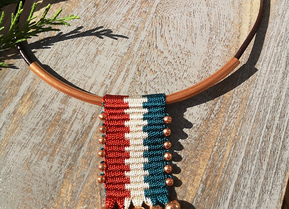 Collar osorno cobre / Osorno copper necklaces