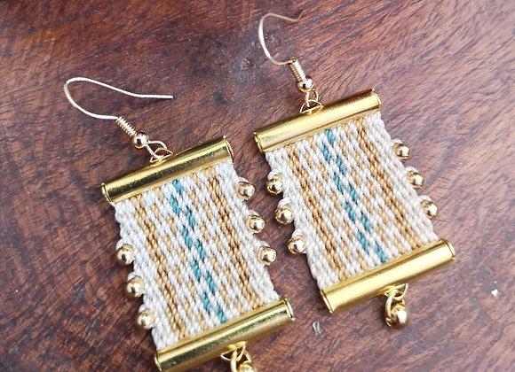 Aros Coigue con gancho/ Coigue hook  earrings