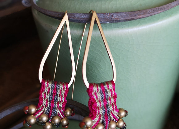 Aros Quillay /  Quillay  earrings